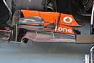 McLaren: non basta la nuova ala per trovare carico