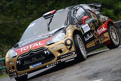 Francia, PS15: Loeb capotta ed è costretto al ritiro