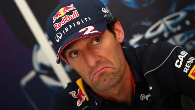 Telaio nuovo per Mark Webber in Giappone