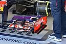 La Red Bull punta al carico con tre upper flap