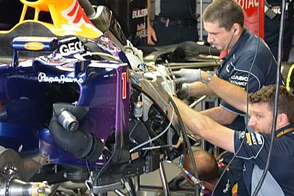 Sostituito il KERS sulla Red Bull di Vettel