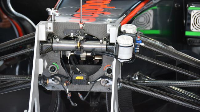 McLaren: ecco dove sono alloggiate le barre
