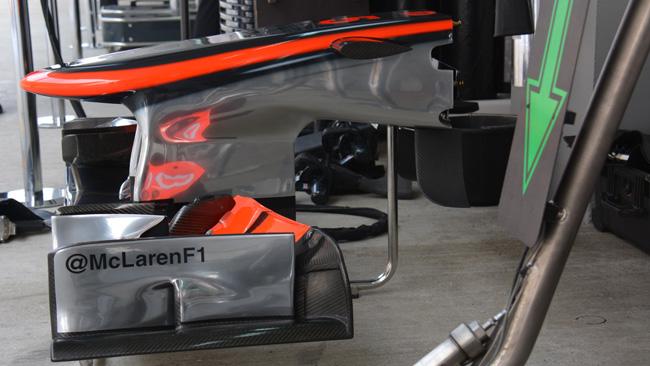 La McLaren sposta le telecamere in vista del 2014