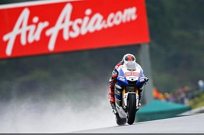 Motegi, Qualifica: Lorenzo pole bagnata
