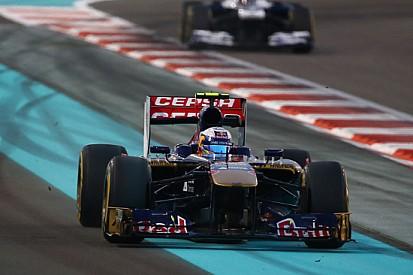 Rischio penalità ad Abu Dhabi all'ultima curva