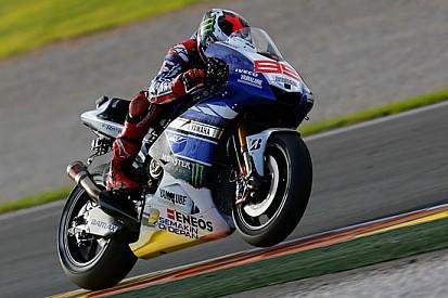 Valencia, Day 1: Lorenzo davanti a Rossi di un soffio