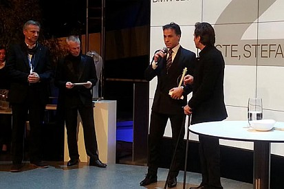 D'Aste premiato come secondo pilota BMW al mondo