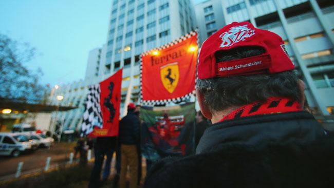 Schumacher è stabile, non ci sono aggiornamenti
