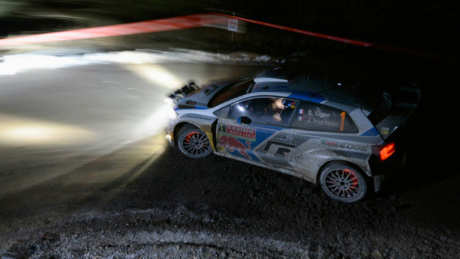 Ogier apre il 2014 trionfando nel Rally di Montecarlo!