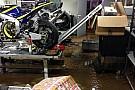 Una inondazione allaga la factory del Team Tech 3