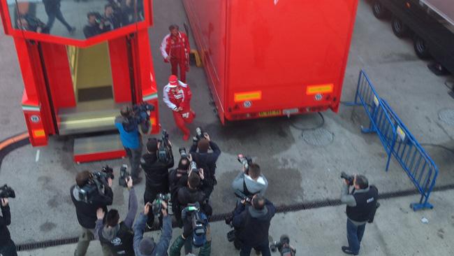 Test a Jerez: è il giorno di Alonso sulla F14T