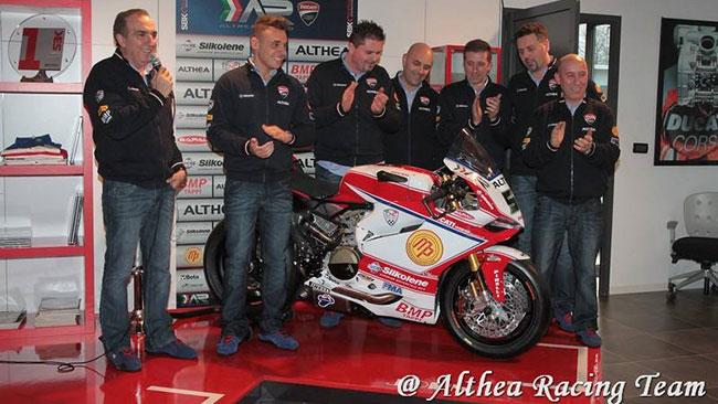 Presentato ufficialmente il Team Althea Ducati 2014