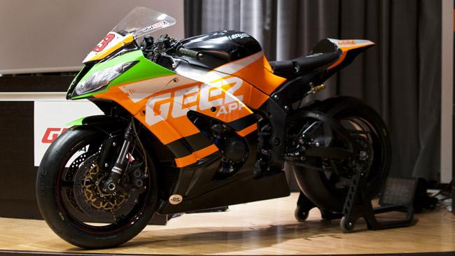 Ecco la nuova livrea della moto di Luca Scassa