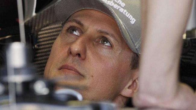Felipe Massa ha fatto visita a Schumi a Grenoble