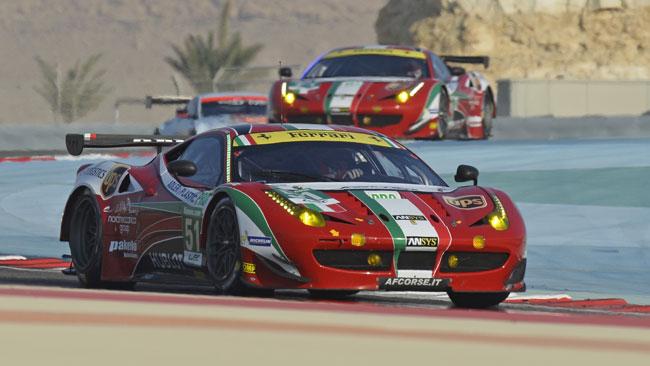 Undici titolari e tre riserve per la Ferrari a Le Mans