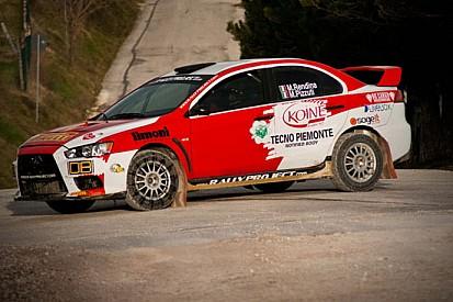 Max Rendina prepara il Rally del Messico a Cingoli