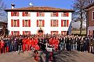 La Ferrari rende omaggio al glorioso V8 056