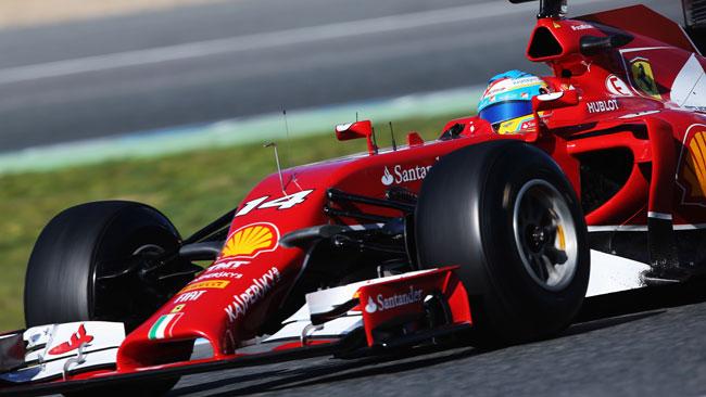 Test Bahrein: con la Ferrari comincia Alonso