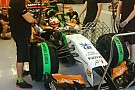 Force India: prove di aerodinamica per Hulkenberg