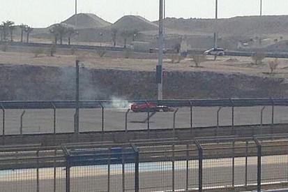 Bahrein, Day 3 (Ore 10): bandiera rossa per Chilton