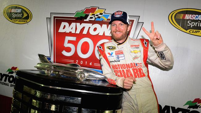 Dale Earnhardt Jr trionfa alla Daytona 500