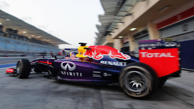 Red Bull: un surriscaldamento ha fermato il long run