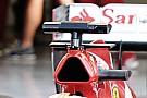La Ferrari con le alette sotto la telecamera