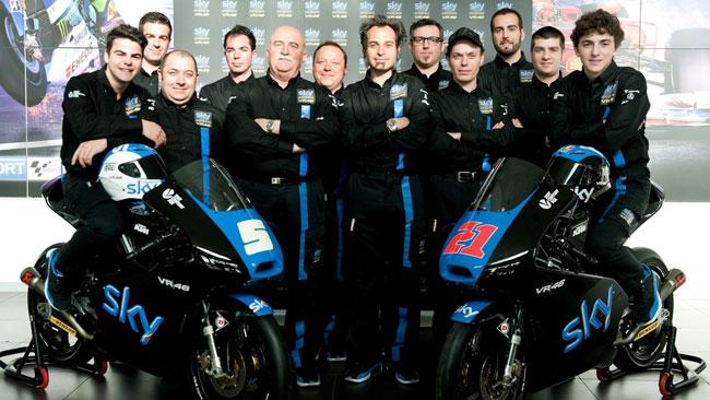 Lo Sky Racing Team by VR46 si presenta a Milano