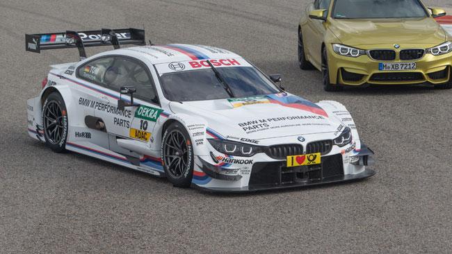 La BMW mostra le forme della nuova M4 DTM
