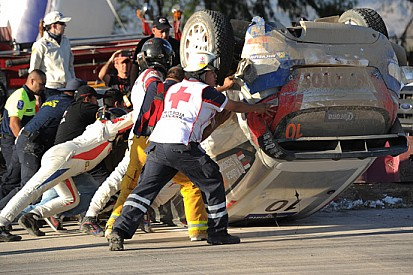 Messico, PS11: Ogier leader, Kubica capotta!