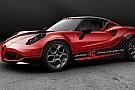 L'Alfa Romeo 4C nuova Safety Car ufficiale!