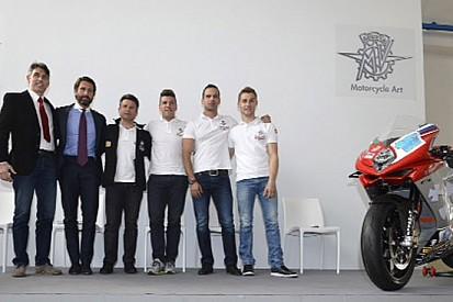 Presentata ufficialmente la MV Agusta Reparto Corse