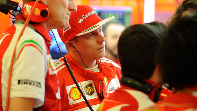Kimi cerca ancora il feeling con il brake-by-wire