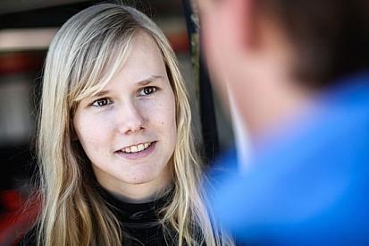 Beitske Visser ha firmato per la AV Formula