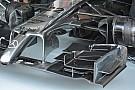 McLaren: piloni col Venturi e tre turning vanes