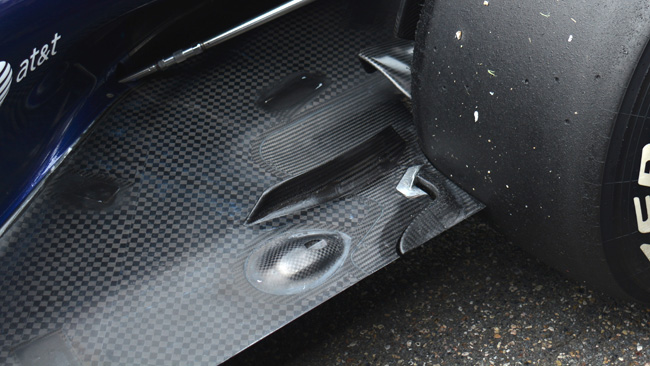 Red Bull: inedito slot sul fondo davanti alla ruota