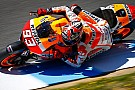 Test Jerez: Marc Marquez precede le due Yamaha