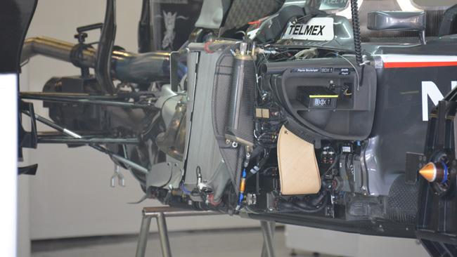 Sauber: pance strette e radiatori più leggeri