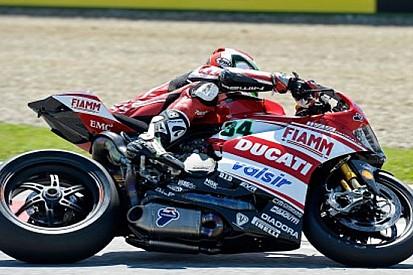 Imola, Libere 1: Davide Giugliano e la Ducati al top