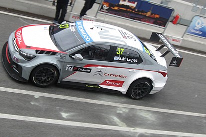 Slovakiaring, Test: López subito velocissimo