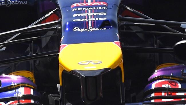 Red Bull: scalino più pronunciato sul muso