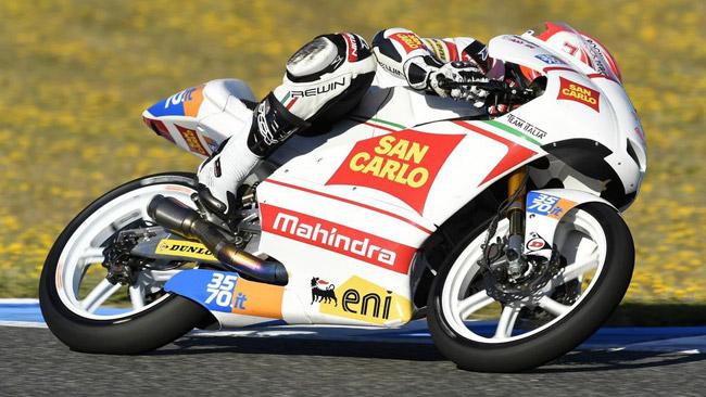Michael Ruben Rinaldi a Le Mans con il Team Italia