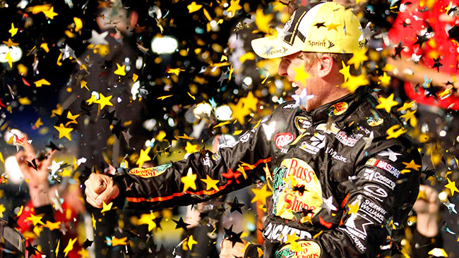 Jamie McMurray si impone nella All-Star Race