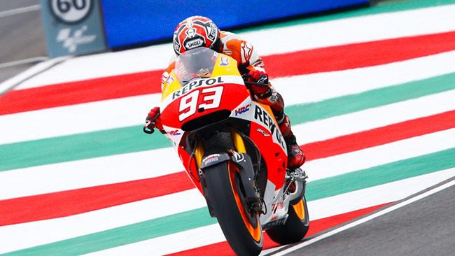 Mugello, Libere 1: subito duello tra Marquez e Rossi