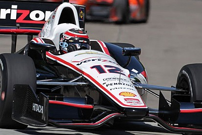 Will Power batte Rahal nella prima gara di Detroit