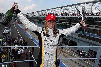 Michela Cerruti prima donna sul podio in Auto Gp