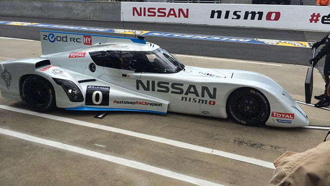 Primo giro in full electric per la Nissan ZEOD RC!