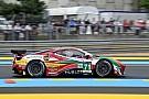 Le Mans sfortunata per i rookie della AF Corse