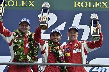 Bruni, Fisichella e Vilander fieri del loro trionfo