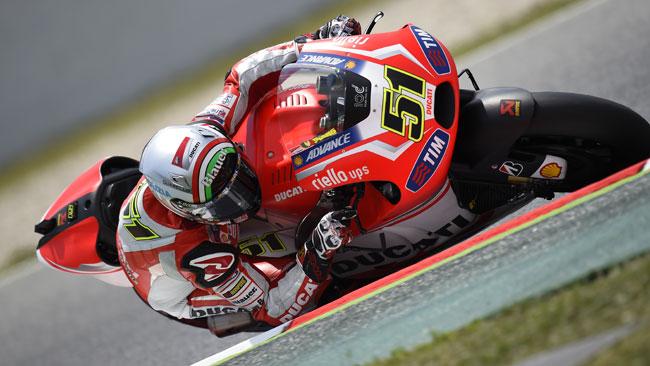 La Ducati lavora su elettronica e set-up nei test